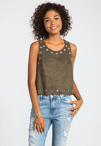 Tassel Asymmetrical Sweater Top