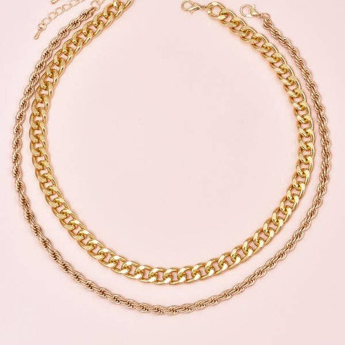 Gold Chunky Chain Necklaces