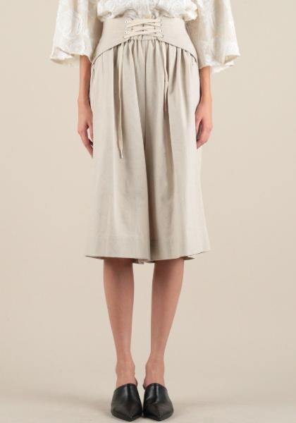 Current Air Linen Culotte Pants