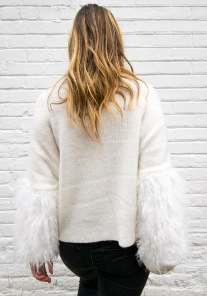 RD Style Winter White Pullover
