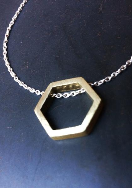 Opulent Ore Brass Necklace