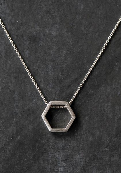 Opulent Ore Sterling Silver Necklace