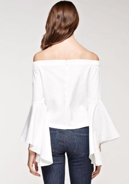 INA Bell Sleeves Top