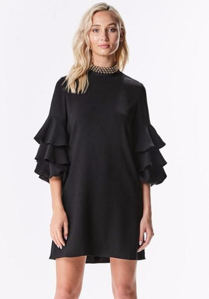 INA Ruffled Dress