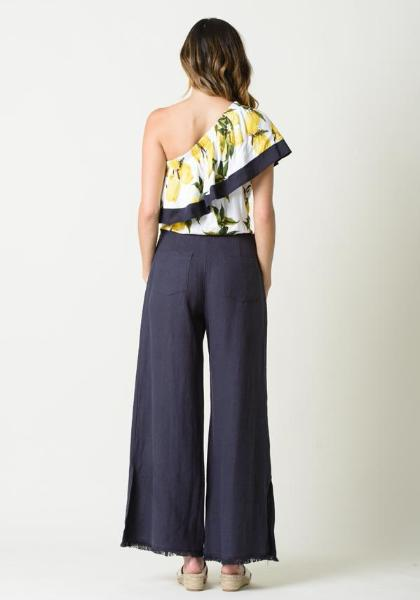 Lucca Fringed Wide Leg Pants