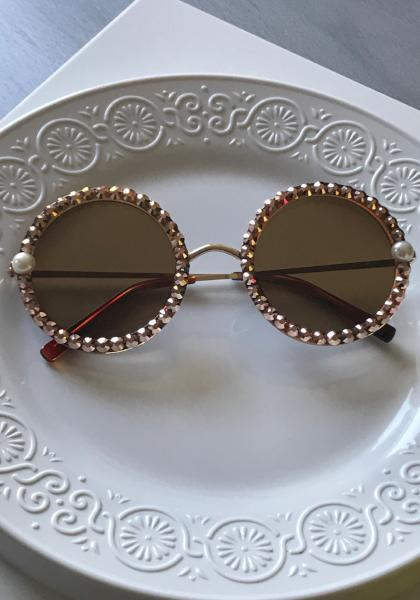 Shadey Rose - Rose Gold Sunnies