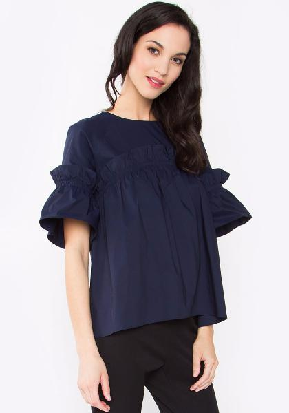 Sugar Lips Poplin Top
