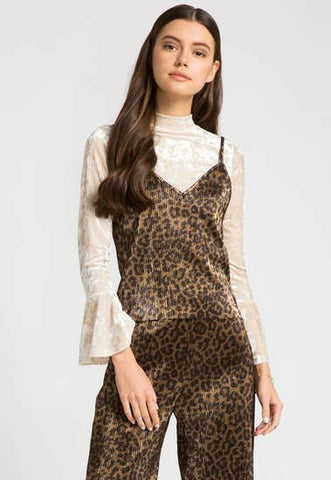 Leopard Bow Maxi Dress