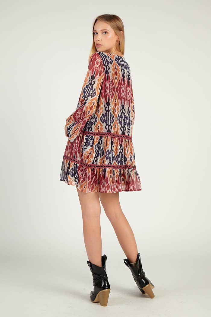 Ethnic Tunic Dress