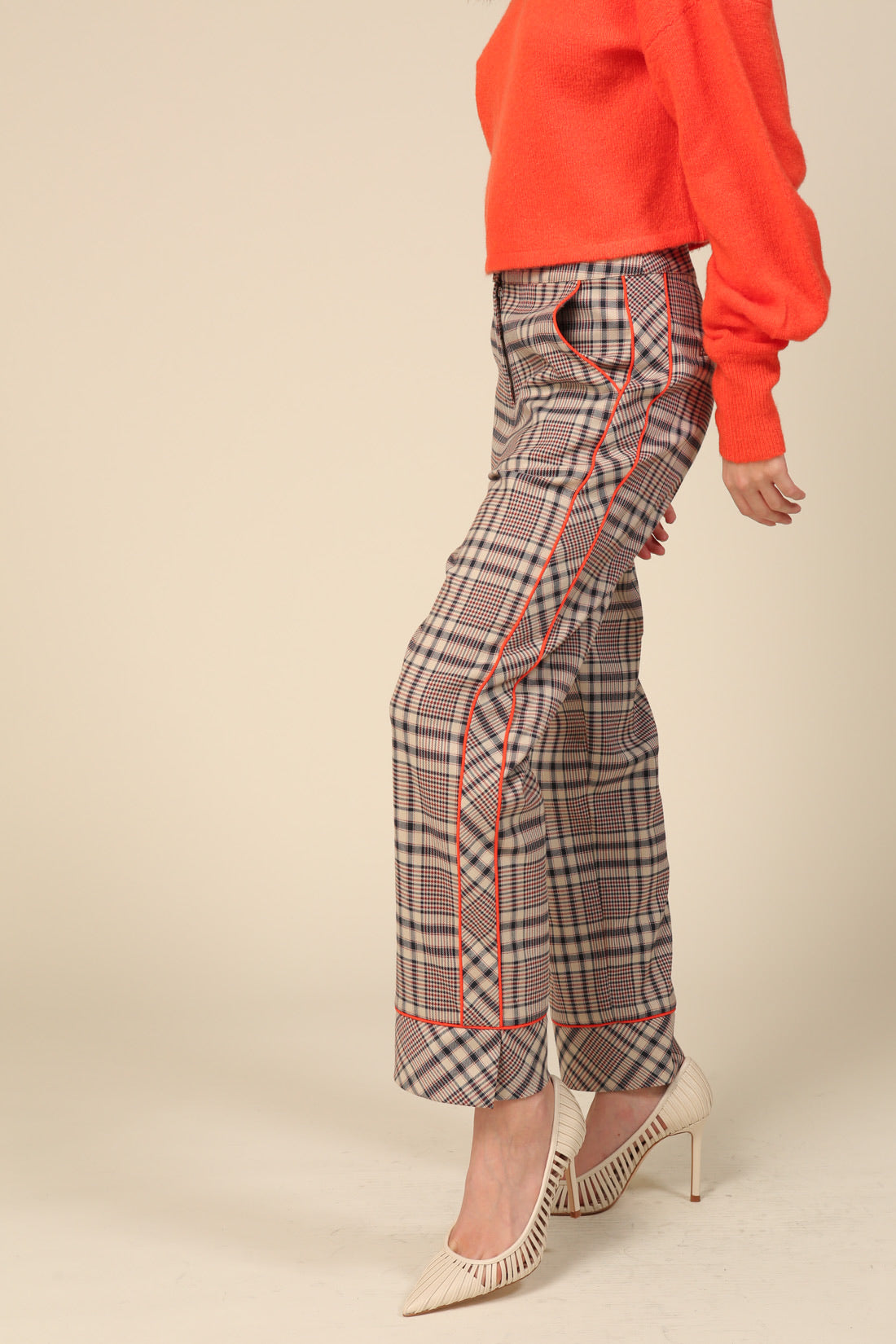 Plaid Tux Pants