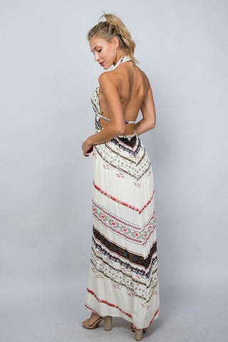 Multi Tiered Midaxi Dress