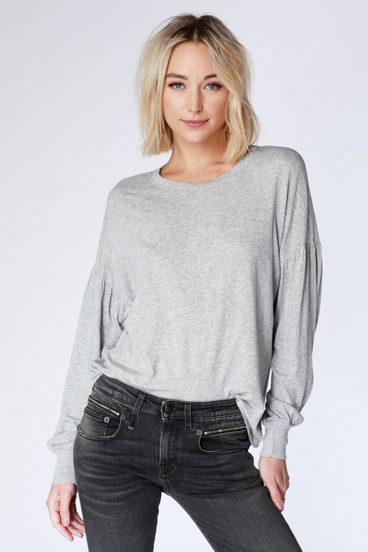 Bishop Sleeve Top