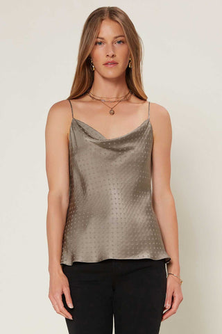 Ribbed Poplin Puff Sleeve Top