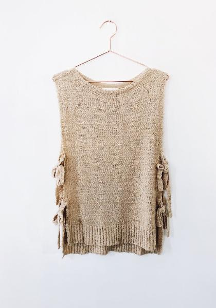 YFB On The Road Sleeveless Side Tie Top