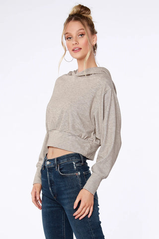 Sustainable Mock Neck Top