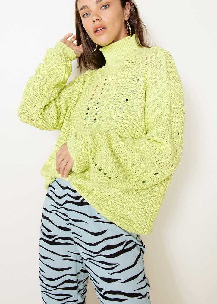 Poly Knit Sweater