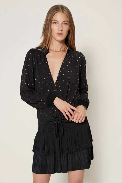 Star Surplice Top