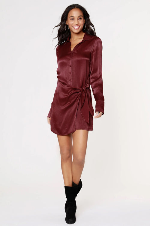 Wrap Shirtdress
