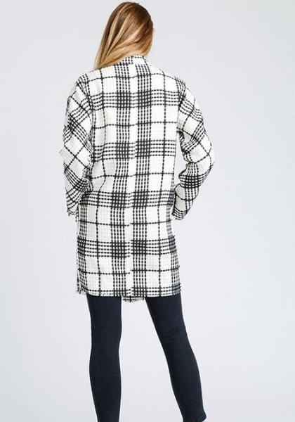 Storia Plaid Coat