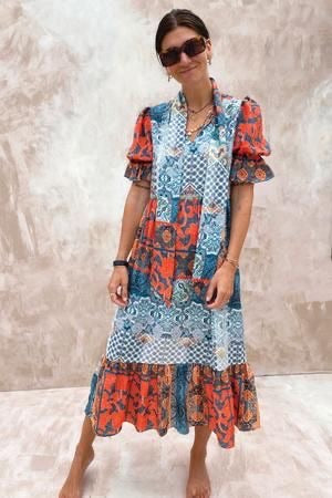 Multi Boho Patsy Dress