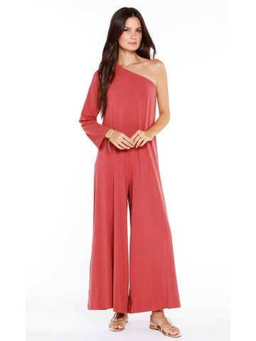 Lucca Floral Jumpsuit with Back Cut Out