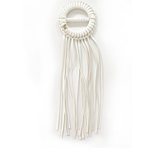 Fringe With Benefits - White