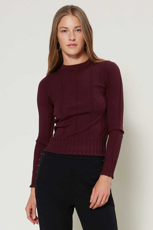 Fitted Knit Top