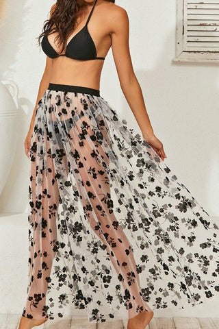 Printed Stretched Shorts
