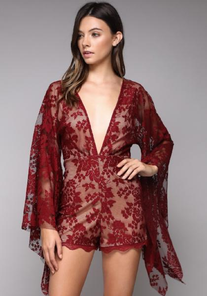 Do + Be Lace Romper