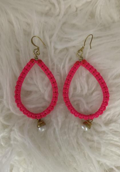 Kaitlynd Bahama Pearl Earrings
