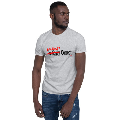 """Biblically Correct"" Short-Sleeve Unisex T-Shirt"