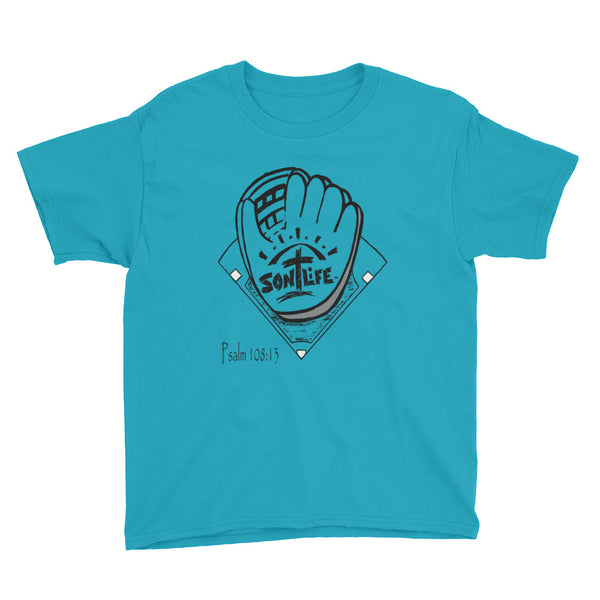 """Play Ball"" Youth Short-sleeve T-Shirt Unisex"