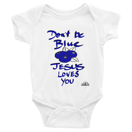 """Don't Be Blue"" Youth Short-sleeve T-Shirt"