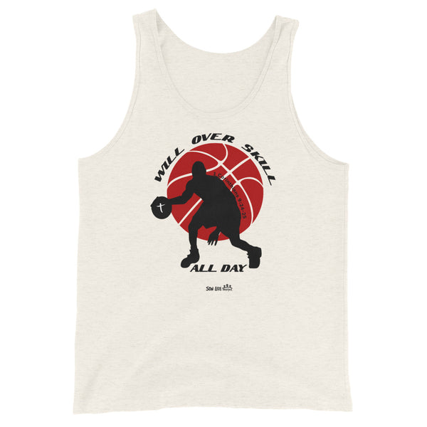 """Will Over Skill"" Unisex Tank Top"