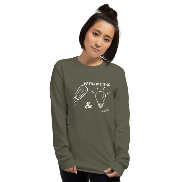 """Salt & Light"" Unisex Long Sleeve Shirt"