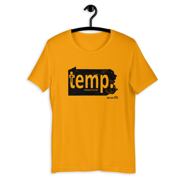"""PA temp."" Short-Sleeve Unisex T-Shirt"