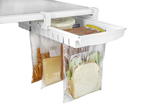 Refrigerator Pull Out Bag Hanging Drawer & Home Organizer