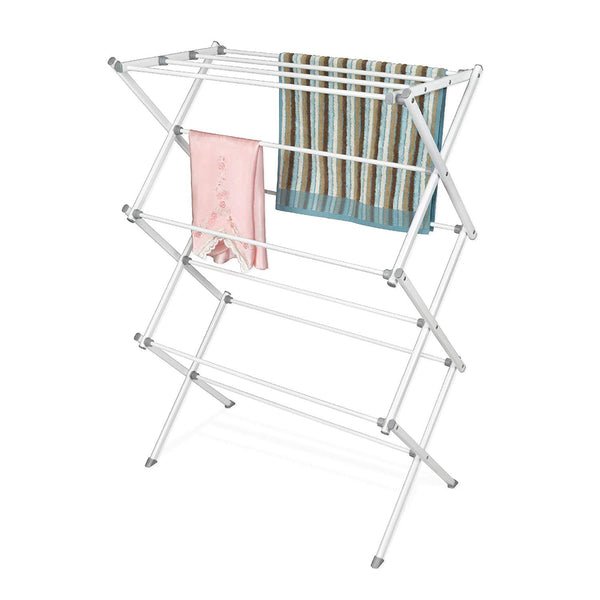 Steel Metal Clothes Drying Rack with Foldable Legs
