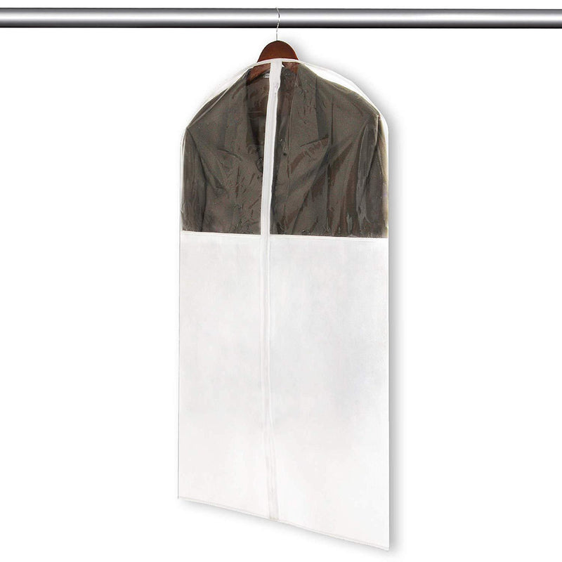 Storage,Small Suit Garment Bag with Vinyl Window