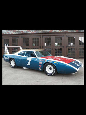 The Plymouth Superbird, one of the original aero-cars.