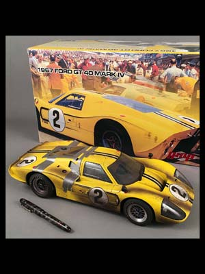 1967 Ford GT40 Mk IV GMP model