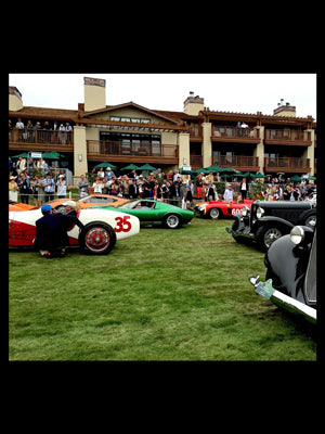 A Day at the Pebble Beach Concours d'Elegance Car Show Courtesy of Dwell