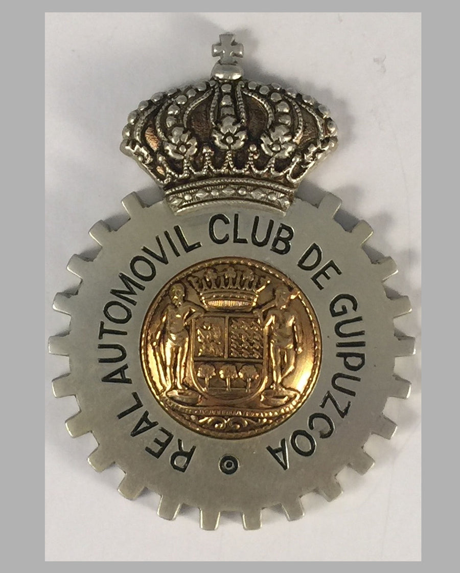 Real Automovil Club de Guipazcoa (Spain) car grill badge