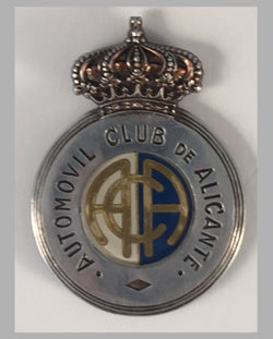 Automovil Club de Alicante (Spain) car grill badge