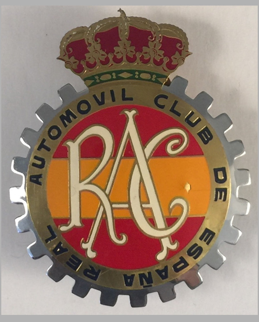 Real Automovil Club de España car grill badge