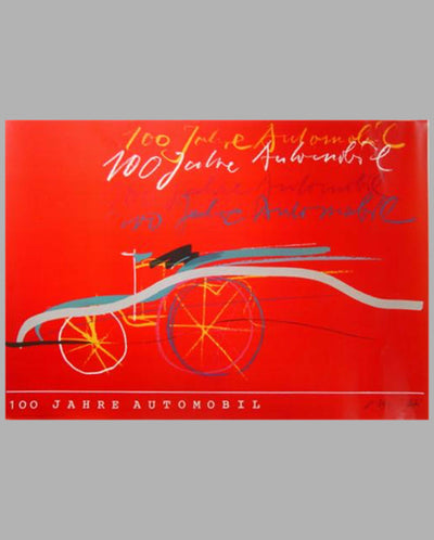 100 Year Anniversary of the Automobile Posters & Catalog 6