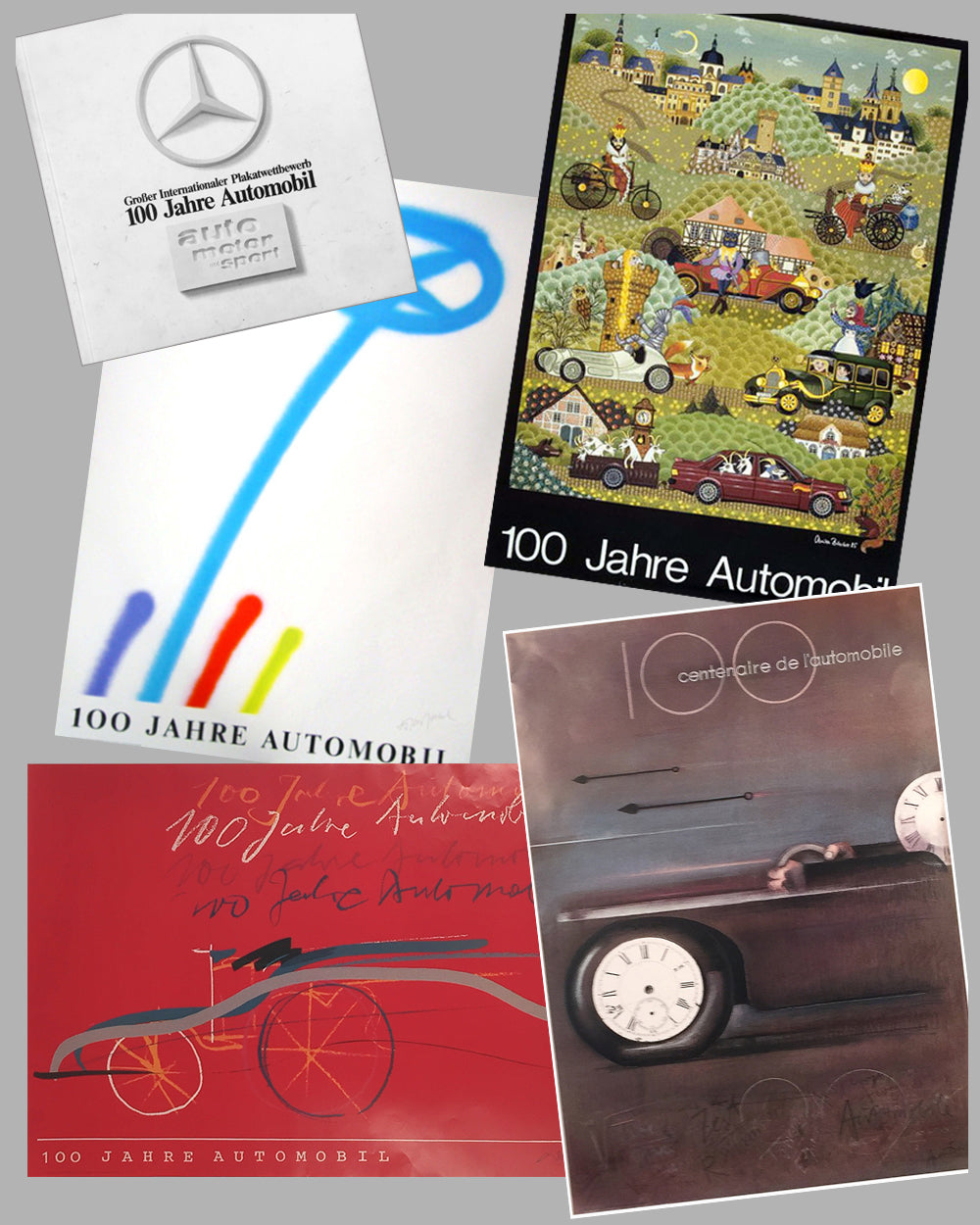 100 Year Anniversary of the Automobile Posters & Catalog