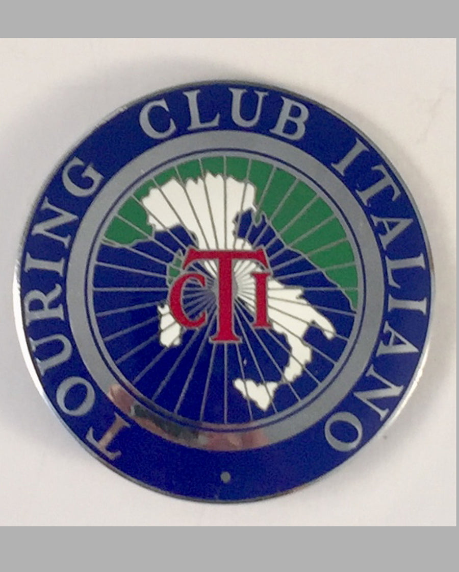 Touring Club Italiano car grill badge