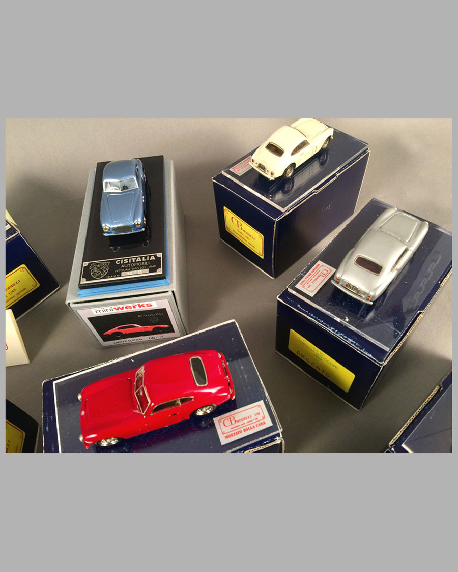 Collection of 14 Cisitalia 202 Coupe models 5