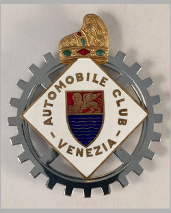 Automobile Club Venezia (Italy) car grill badge
